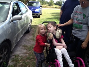 Kaylee with Savannah Pic 2