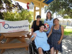 Gold and Diamond source, Wheelchairs 4 Kids, Matt's presentaton