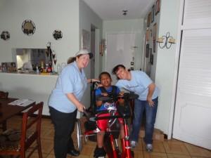 Mad, Jean Carlos and Sarah