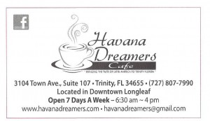 Havana Dreamers Cuban Cafe Ad