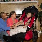 Savannah & Parents New Chair 2