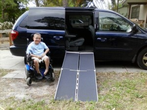 Dillon with ramp!