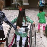 Group gives wheelchairs to disabled kids