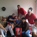 Nationals spend time with children from Wheelchairs 4 Kids