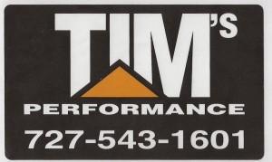 Tim's Performance - tkt sponsor