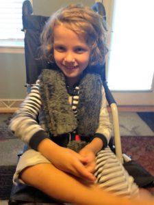 Greyson in New Stroller