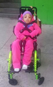 Kierra Pic in wheelchair